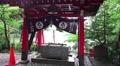 Shinto Temple Rainy Day HD Footage