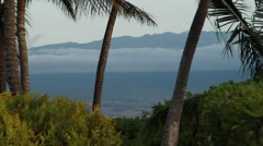 Wide shot of A-Bay in Hawaii Stock Footage