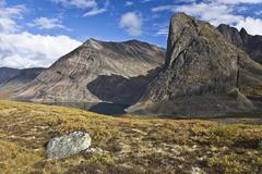 Divide Lake, Tombstone Territorial Park, Yukon, Canada Stock Photos