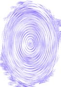 blue ripple - stock illustration