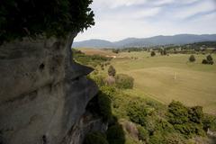 Grove Scenic Reserve, Abel Tasman National Park, Pohara, South Island, New - stock photo
