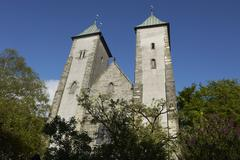 Stock Photo of St Mary's Church, Bergen, Norway