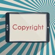 Stock Illustration of copyright