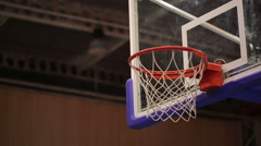 Ball in the Basket 3 Stock Footage