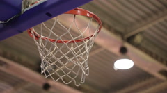 Ball in the Basket 2 Stock Footage