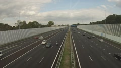 A10 Amsterdam ringroad timelapse Stock Footage