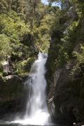 Wainui Falls, Abel Tasman National Park, South Island, New Zealand - stock photo