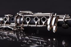 Close-up of clarinet Stock Photos