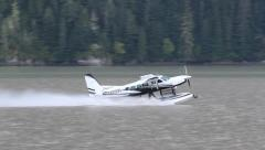 Amphibious Caravan Takeoff Stock Footage