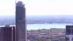 City landscape Stock Footage