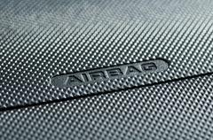 Stock Photo of Close-up of Airbag