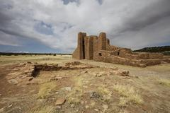 Stock Photo of Abo Mission, Salinas Pueblo Missions National Monument, New Mexico, USA