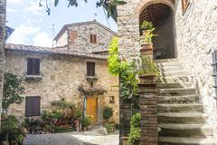 Stock Photo of montefioralle (chianti, tuscany)