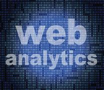 Web analytics indicating report net and www Stock Illustration
