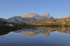 Innichriedl Knoten, Dolomites, South Tyrol, Trentino Alto Adige, Italy - stock photo