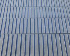 Corrugated Tin Roof, Gardermoen Airport, Gardermoen, Ullensaker, Akershus, Stock Photos