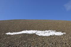 Stock Photo of Stone Desert, Mushamna, Woodfjorden, Spitsbergen, Svalbard, Norway