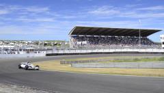 Minardi F1 race car Arkistovideo