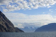 Kejser Franz Joseph Fjord, Greenland - stock photo