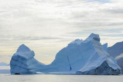 Stock Photo of Iceberg, Nanortalik, Kujalleq, Kejser Franz Joseph Fjord, Greenland