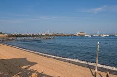 Shoreline at Harbour, Provincetown, Cape Cod, Massachusetts, USA Kuvituskuvat