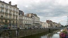 Vilaine River - Rennes France - HD 4k+ Stock Footage