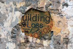 loss concept - stock illustration