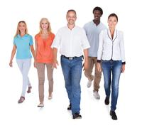 Stock Photo of multi-racial group of people