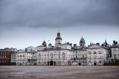 Horse Guards Parade is a large parade ground off Whitehall in central London Stock Photos