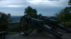 Canons of the Wartburg Stock Footage