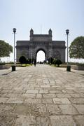 Stock Photo of The Gateway of India, Mumbai, India.