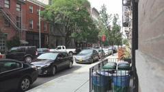 New York City street scenes Stock Footage