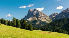 Dolomites, Italian Alps timelapse Stock Footage