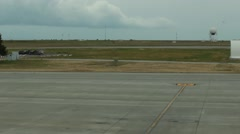 View of an Airstrip - stock footage