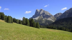 Dolomites Alps, Italy Stock Footage