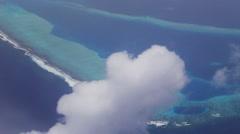 overlook maldives - stock footage
