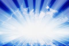 bright light - stock illustration