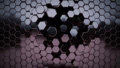 Hi-tech honeycomb. Stock Footage