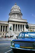 capitol cuban historical monument - stock photo