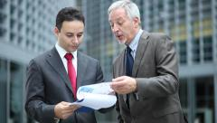 Business people at work Stock Footage