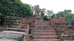 Thailand Ruins.3 Stock Footage