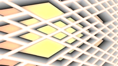 Rolling honeycomb background Stock Footage