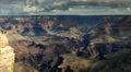 4K Grand Canyon South Rim  02 Timelapse moving clouds and shadow Footage