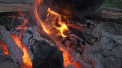 Flame of fire 3 Stock Footage