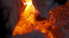 Flame of fire 7 Stock Footage