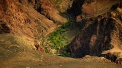 4K Grand Canyon South Rim  03 Timelapse Phantom Ranch Stock Footage