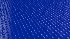 Techno Concept Blue Looping Background Stock Footage