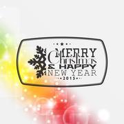 Merry christmas background Stock Illustration