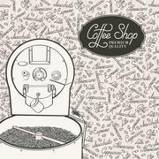 Professional machine. - stock illustration