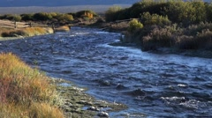Stream along the Nez Perce trail Stock Footage